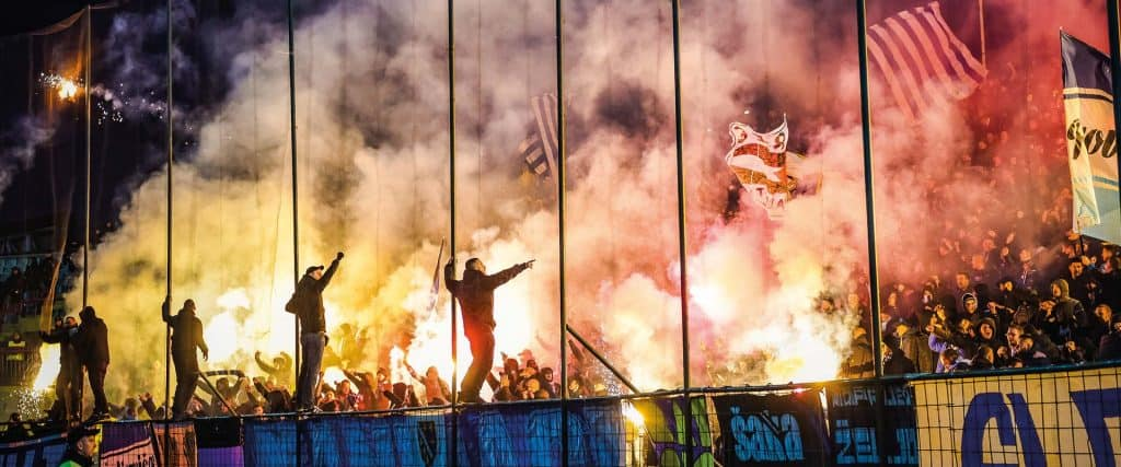 FK Željezničar v FK Sarajevo