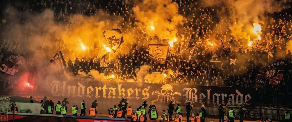 Partizan v Rode Ster